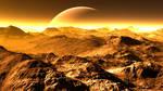 Moon landscape by GLO-HE
