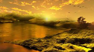 Water Landscape  III
