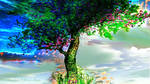 Symbolic ornament the tree of life by GLO-HE