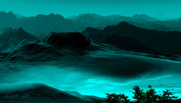 Mural-green-Landscape