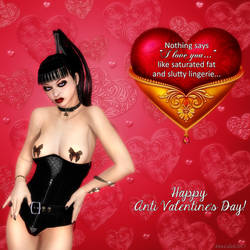 Anti Valentine's Day 1 by DireLilith