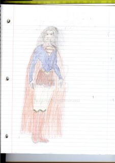 Supergirl colored by ealperin by ealperin2