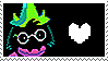 deltarune 03 // stamp by TOONYTlME