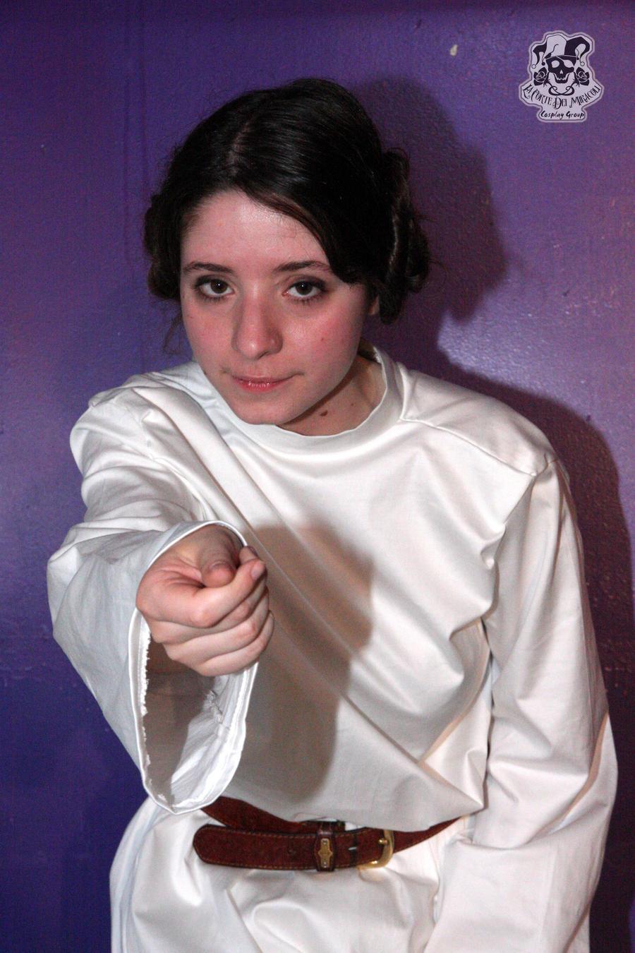 Help me, Obi Wan Kenobi by MiracoliCosplay