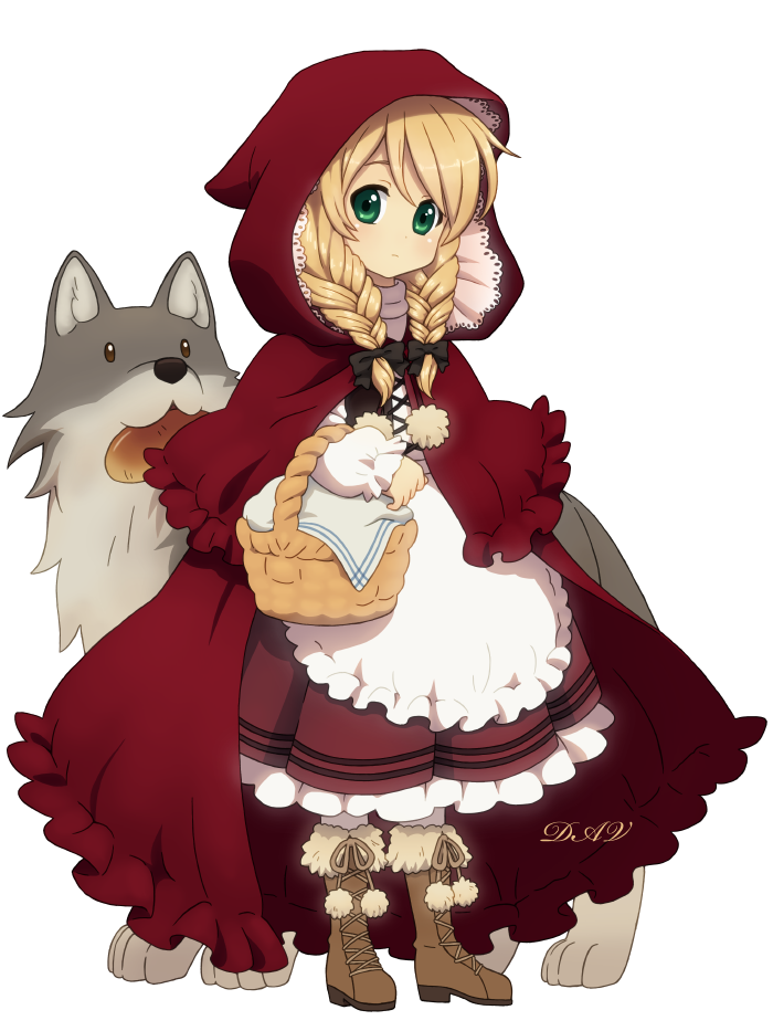 Little Red Riding Hood by DAV-19