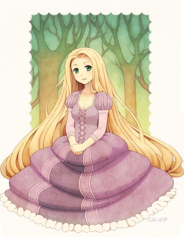 Rapunzel by DAV-19