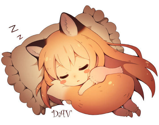 Sleeping Fox By DAV 19 On DeviantArt
