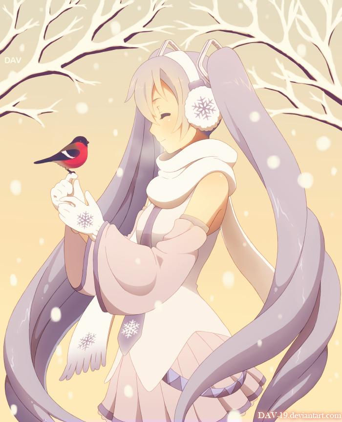 Snow Miku by DAV-19