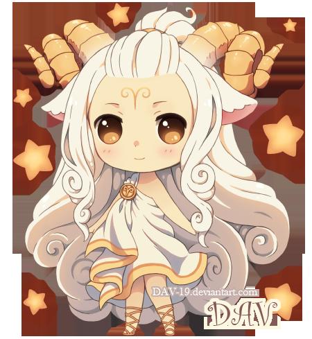 Chibi Aries By DAV 19