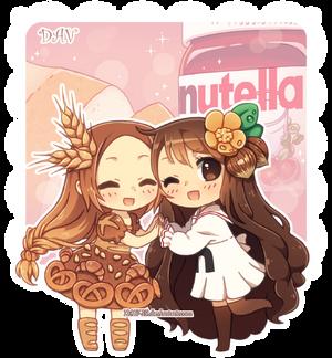 Bread and Nutella