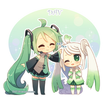 Miku and Leek