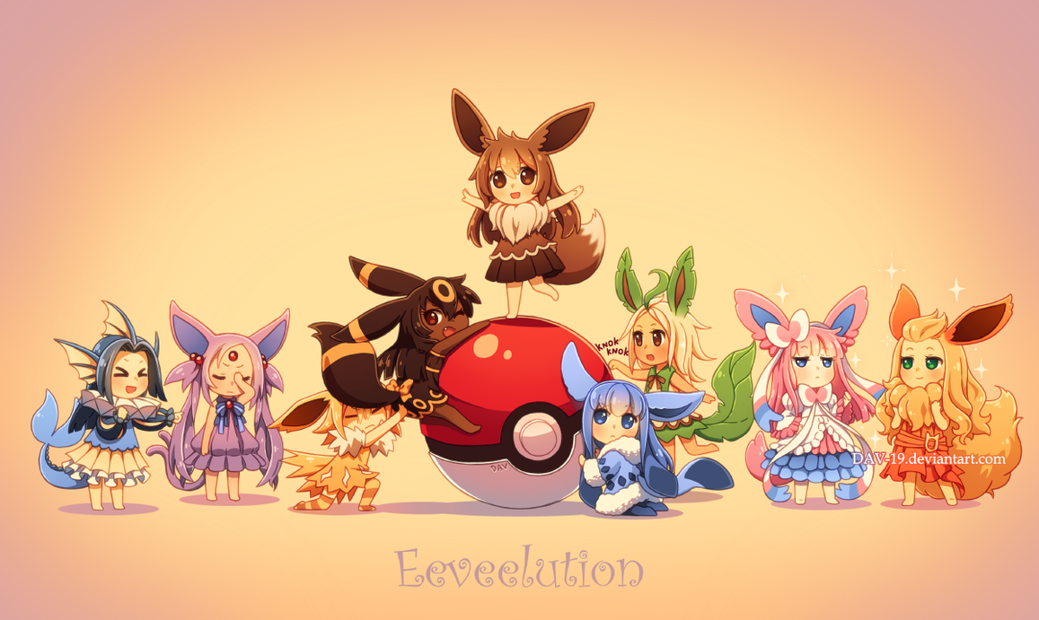 Eeveelution by DAV-19