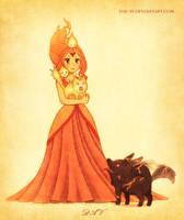 Flame Princess by DAV-19