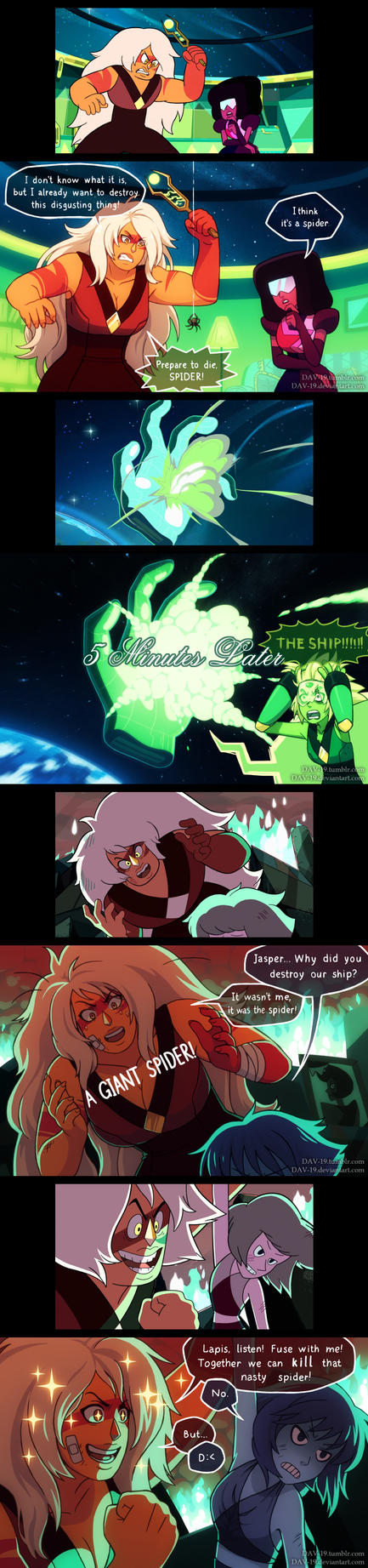 Steven Universe Screenshots Redraw by DAV-19
