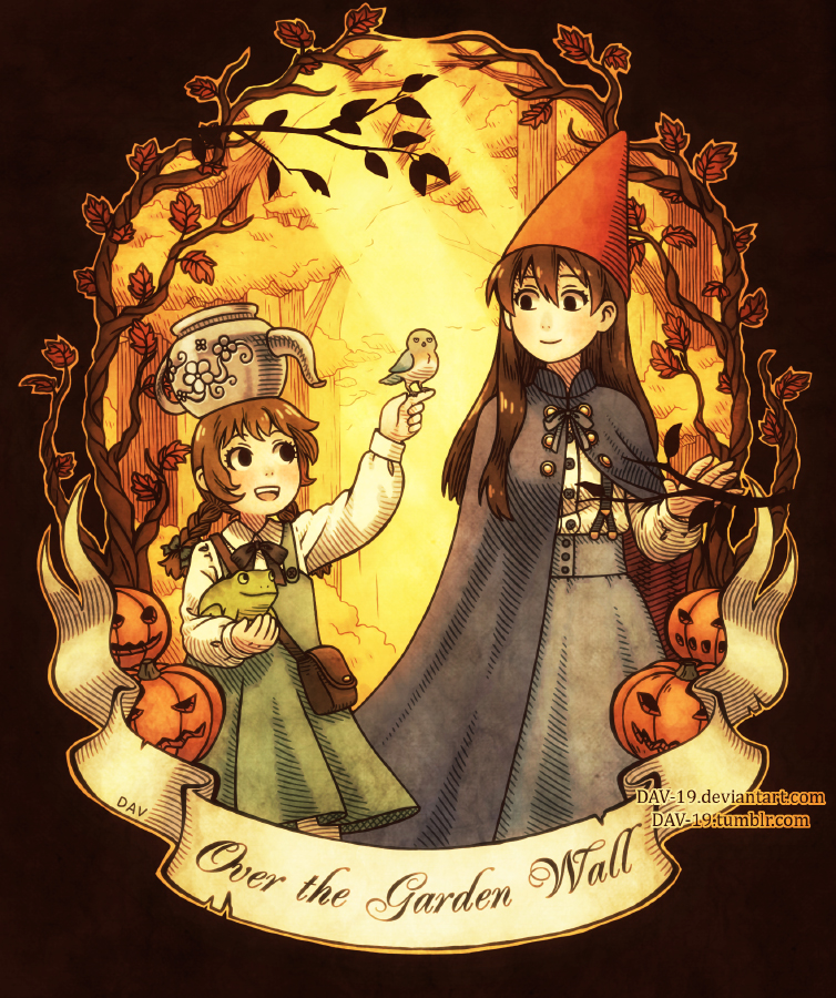 Over the garden wall by dav 19 on deviantart for Mas alla del jardin online