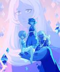 Blue Gems by DAV-19