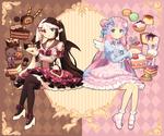 Shirahime and Nadeshiko