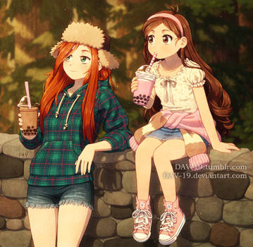 Wendy and Mabel by DAV-19