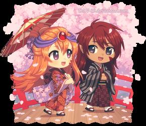 Kana and Hiro
