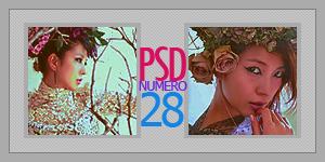 Coloring PSD - VEINTE Y OCHO by tenshi-16