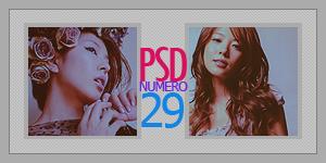 Coloring PSD - VEINTE Y NUEVE by tenshi-16