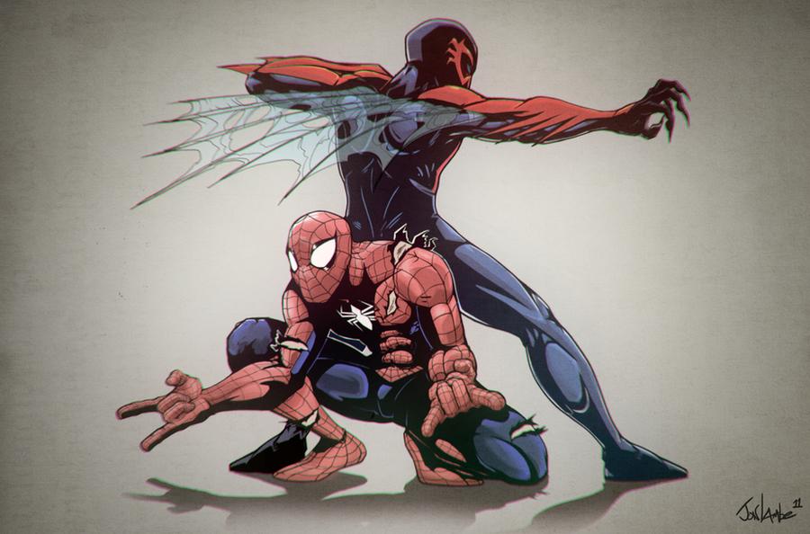 Spiderman 2099: Edge Of Time By Lambator On DeviantArt