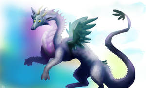 Collab.- Feather dragon