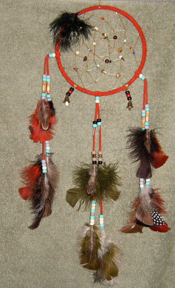 Traditional Red- DreamCatcher