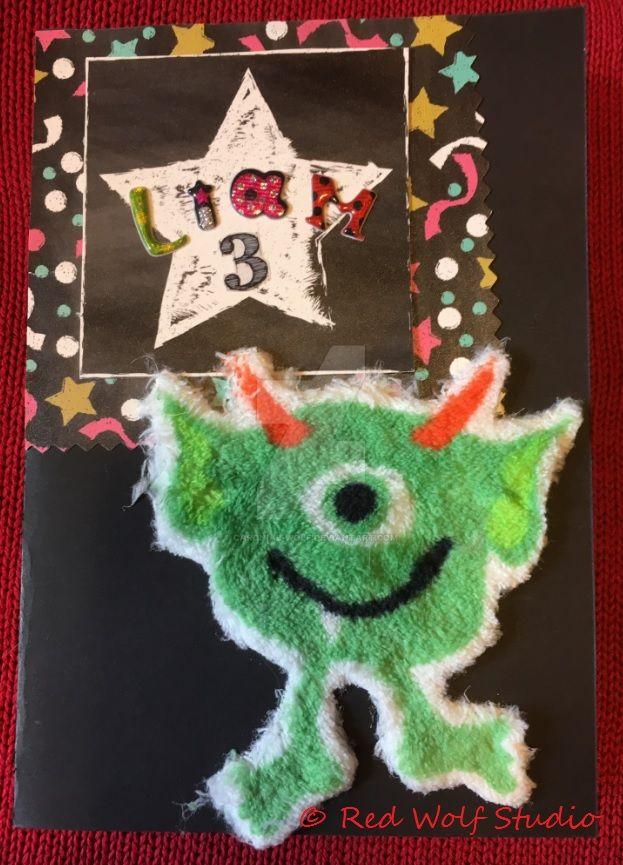 Chalkboardmonster by cardnial-wolf