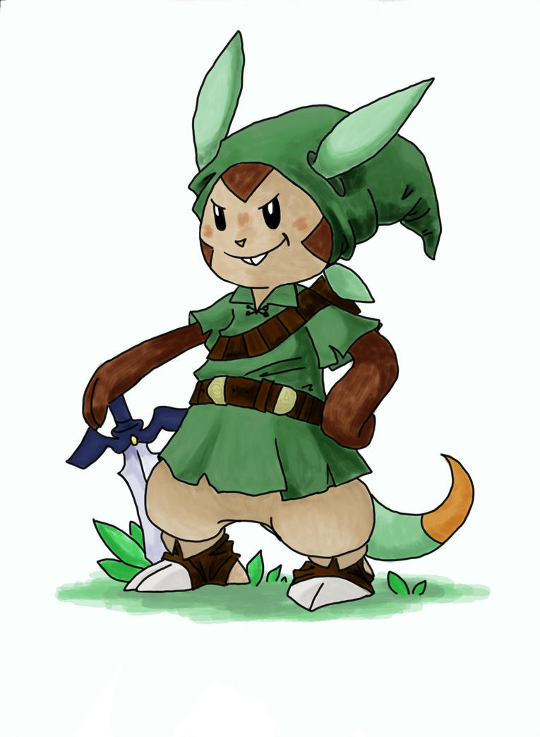 Froakie Final Evolution Leaked Chespin_as_link_by_prism_pink- ...