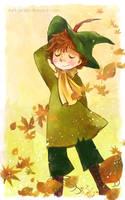 Snufkin - Autumn Breeze by meadow-rue