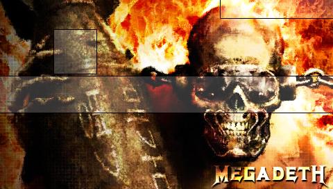 Megadeth PSP Wallpaper By Deathtv
