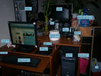 Desk 2009 by Mistress-Jaeden