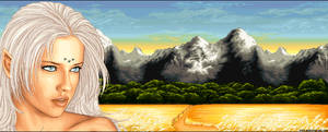 Traveling the lands of Sillis by Mistress-Jaeden