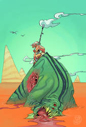 Moebius Tribute by Brett2DBean