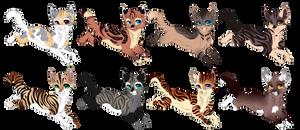 Cat adoptables set 4[Open]