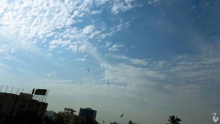 partial clouds