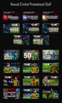 Howzat Cricket Facebook Peromotion