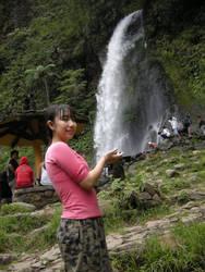 Taking Waterfall by jazzinblue