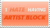 Stamp 2 - Artist Block by satakigreendragon