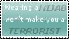 Stamp 5 - Hijab by satakigreendragon