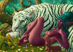 Tyrande - Zep - Nude - HFsize by ZepsArt