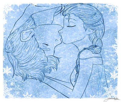 Frozen: The cold never bothered me anyway by Intrecciafoglie