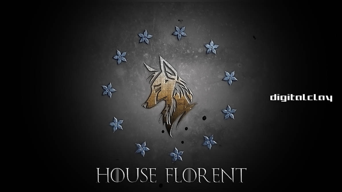 The banner of house Florent by mrminutuslausus on DeviantArt