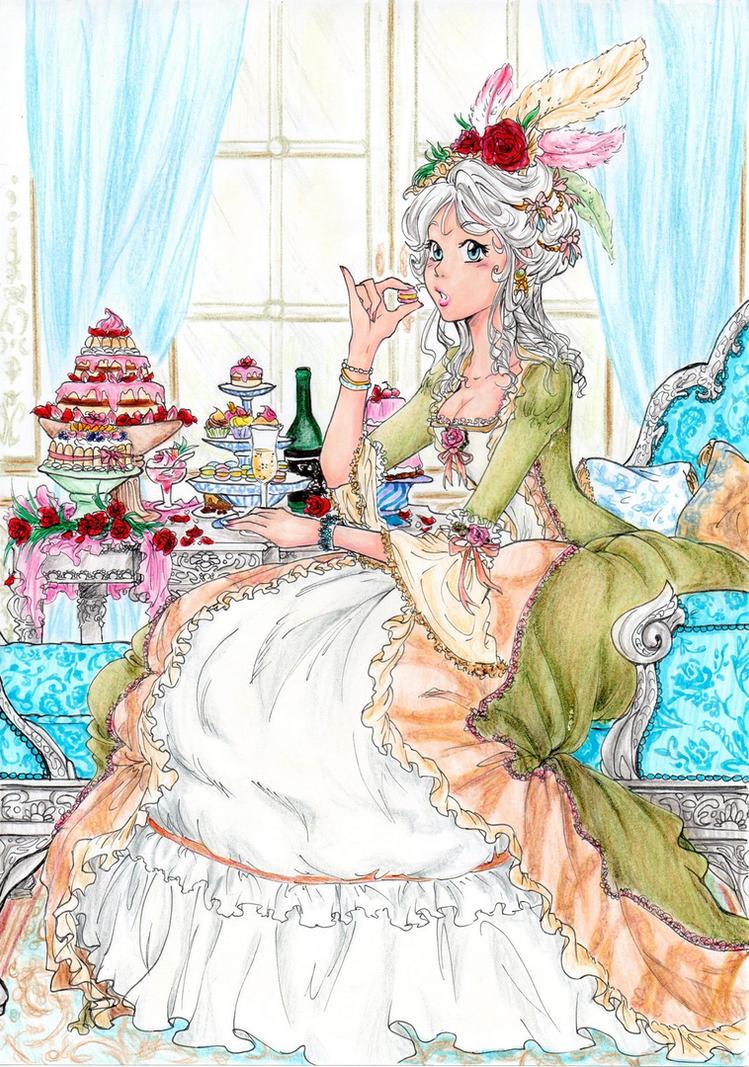 Marie Antoinette by Klaudia-Ayame