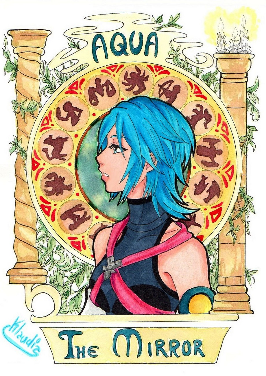KH: Aqua -The Mirror by Klaudia-Ayame