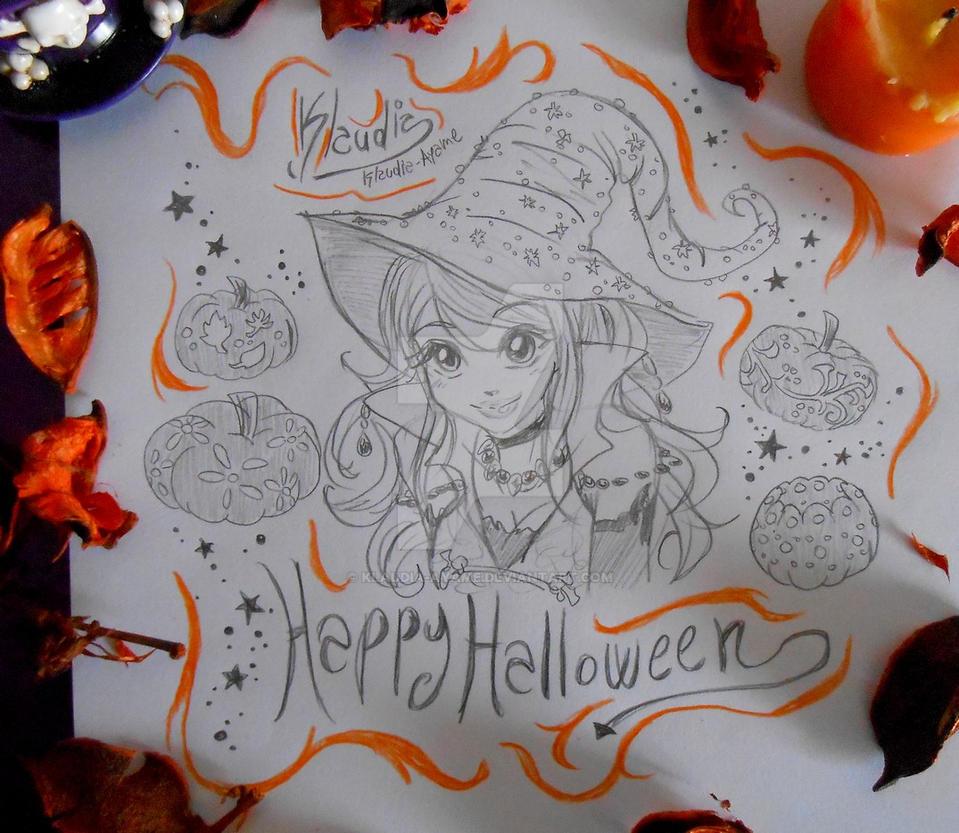 Happy Halloween 2018 by Klaudia-Ayame