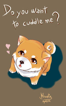 Cuddle the Puppy