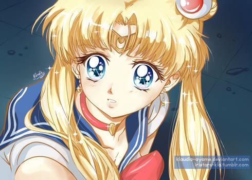 Sailor Moon Redraw Challenge_my style