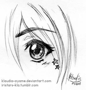 Challenge DA_ Draw an Eye with reiq